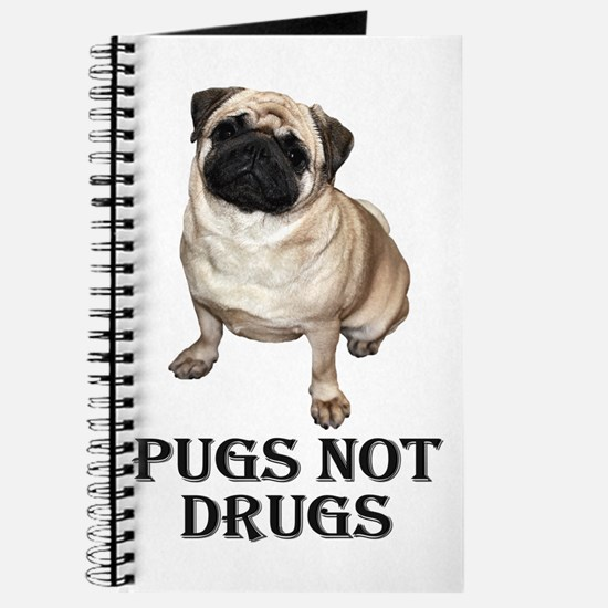 Funny Pug rescue Journal