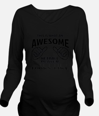This is what an awes Long Sleeve Maternity T-Shirt