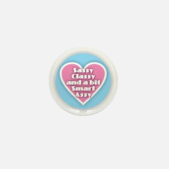 Sassy Classy Smart Assy Mini Button