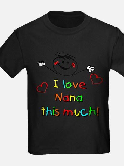 I Love Nana (Boy) T-Shirt