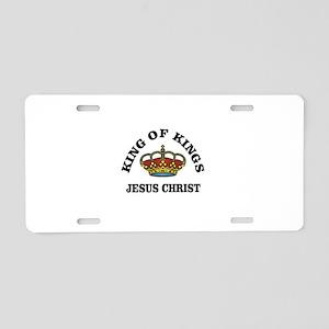 JC King of kings Aluminum License Plate