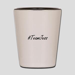 Team Jess Shot Glass