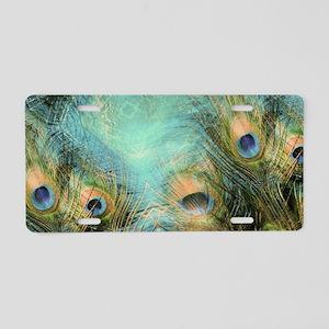 Fantasy Eyes Aluminum License Plate
