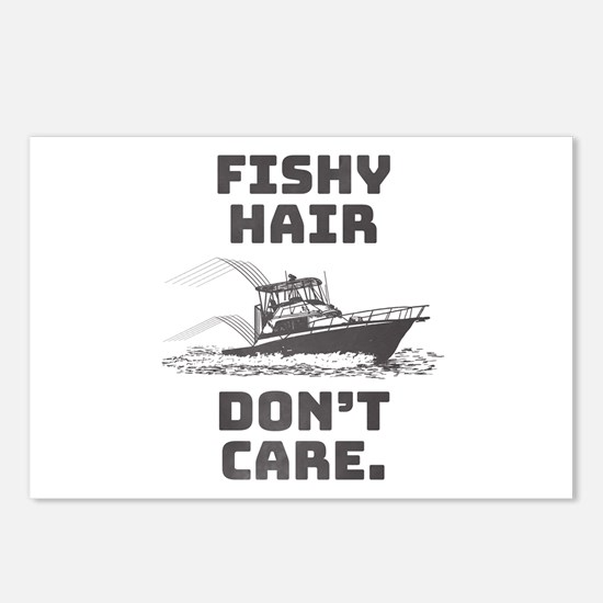 Fishy Hair Postcards (Package of 8)