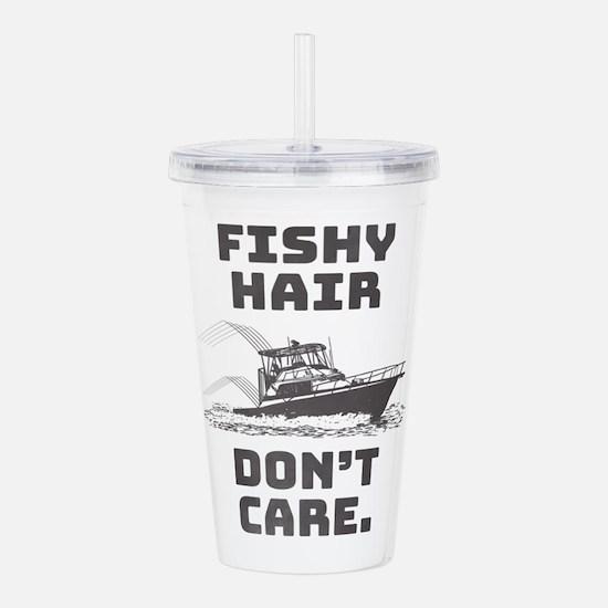 Fishy Hair Acrylic Double-wall Tumbler