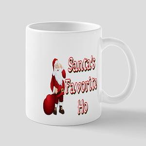 SANTA'S FAVORITE HO Mugs