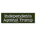 Independents Against Trump Bumper Sticker
