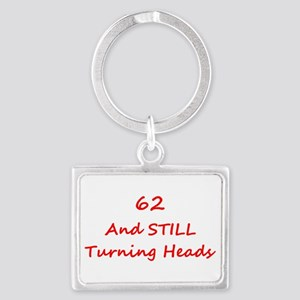 62 Still Turning Heads 1C Red Keychains