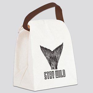 Stay Wild Canvas Lunch Bag