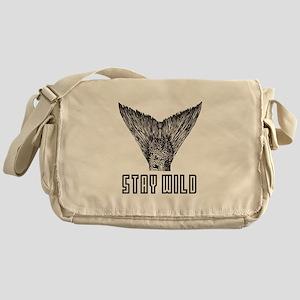 Stay Wild Messenger Bag