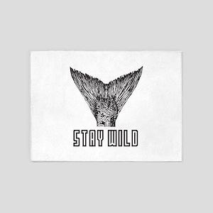 Stay Wild 5'x7'Area Rug