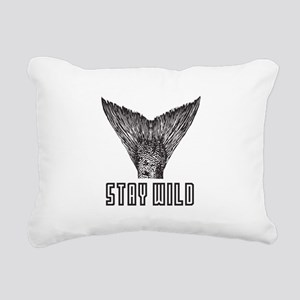 Stay Wild Rectangular Canvas Pillow