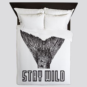 Stay Wild Queen Duvet