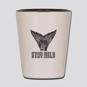Stay Wild Shot Glass