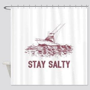 Stay Salty Shower Curtain