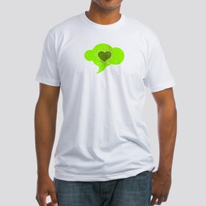 Love = War: Missile > Fitted T-Shirt
