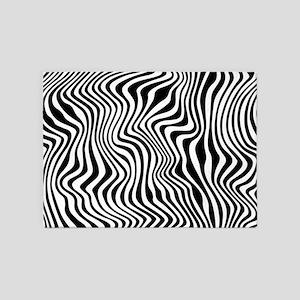 Wild Stripes 5'x7'Area Rug