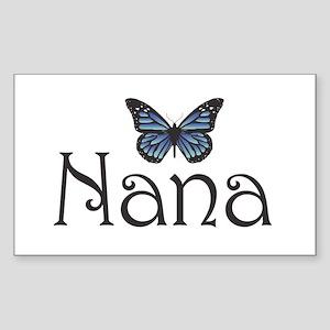 Nana Rectangle Sticker