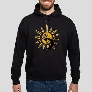 Hopi Kokopelli Gold Sweatshirt