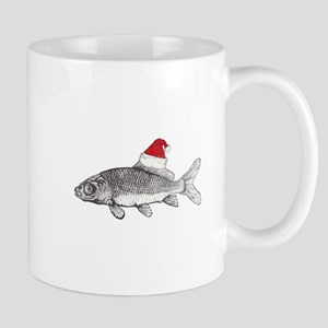 Merry Fishmas Mugs
