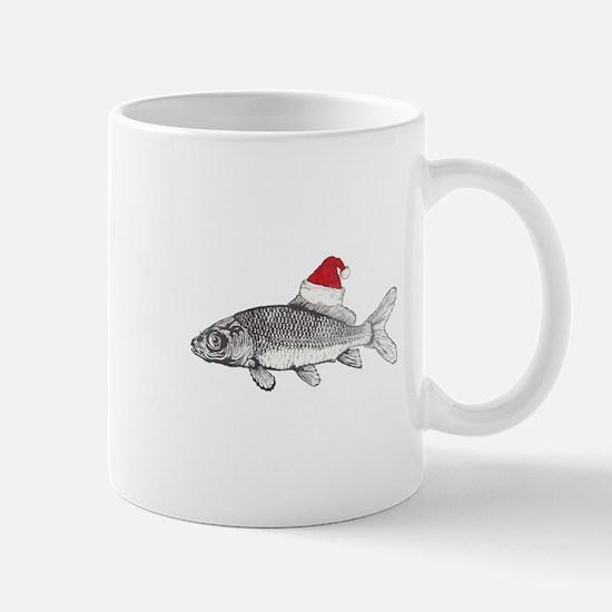 Merry Fishmas Mugs