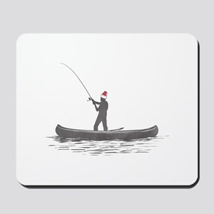 Merry Fishmas Mousepad