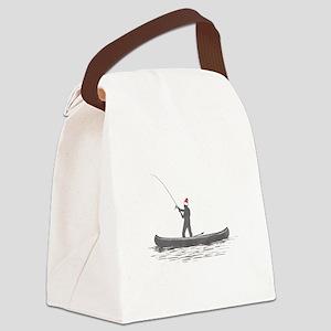 Merry Fishmas Canvas Lunch Bag