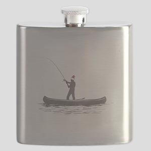 Merry Fishmas Flask