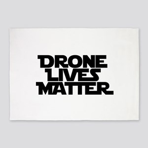 Drone Lives Matter 5'x7'Area Rug