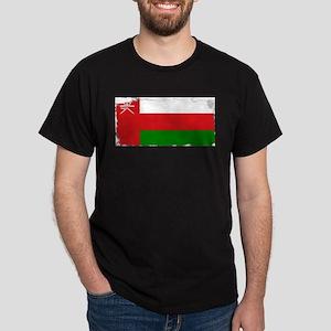 Flag of Oman Grunge T-Shirt