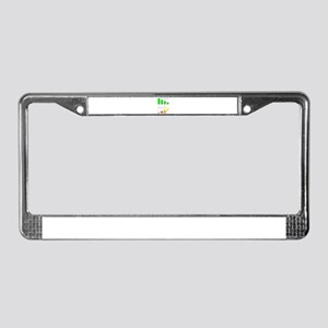 Battery Charging License Plate Frame