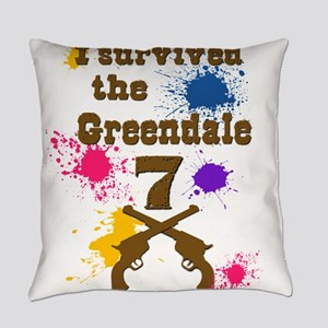 I survived the Greendale 7 Everyday Pillow