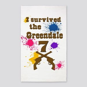 I survived the Greendale 7 Area Rug