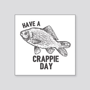 Crappie Day Sticker
