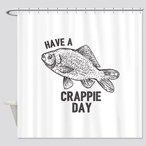 Crappie Day Shower Curtain