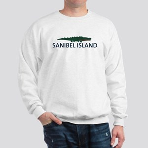 Sanibel Island - Alligator Design. Sweatshirt