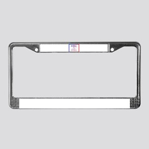 HRC --The People's President License Plate Frame