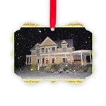 Marty's Place Holiday Picture Ornament
