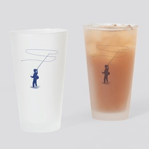 Flycasting Drinking Glass