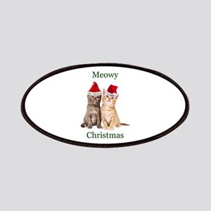 Meowy Christmas Kitten Patch