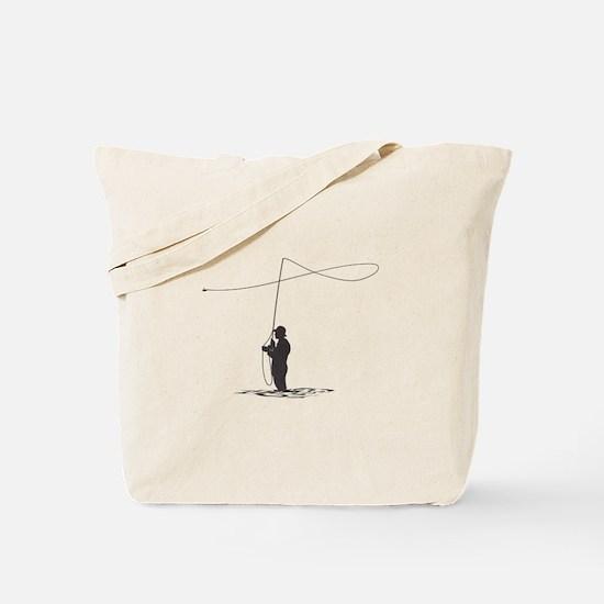 Flycasting Tote Bag