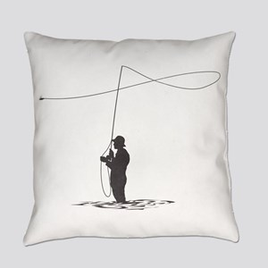 Flycasting Everyday Pillow