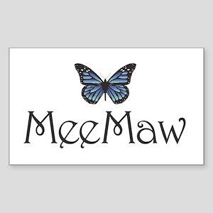 MeeMaw Rectangle Sticker