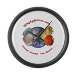 Simplydiscus_shirt_v1_cafepress Large Wall Clo