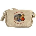 Simplydiscus_shirt_v1_cafepress Messenger Bag