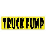 Truck Fump Bumper Sticker Bumper Sticker