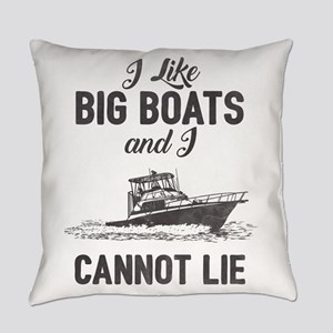 Big Boats Everyday Pillow