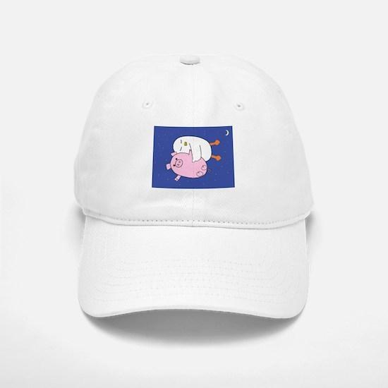 Yaya and Piggy Baseball Baseball Baseball Cap