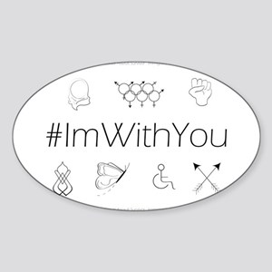 I'm With You Sticker