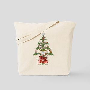 GOAT LOVERS CHRISTMAS TREE Tote Bag